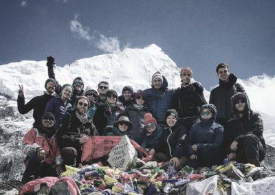 Trekkers in Nepal